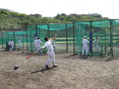 5打撃練習